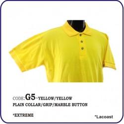 T-Shirt Lacoast G5 - Yellow/Yellow