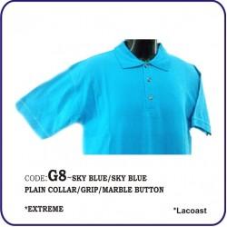 T-Shirt Lacoast G8 - Sky Blue/Sky Blue