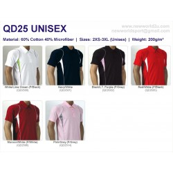 Quickdry Unisex QD25